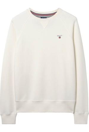 Gant Beyaz Erkek Sweatshirt 276122.113