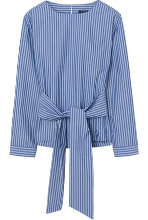 Gant Lacivert Kadın Bluz 4311010.436