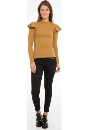 Collezione Kadın Sweatshirt Uzun Kol İlafre