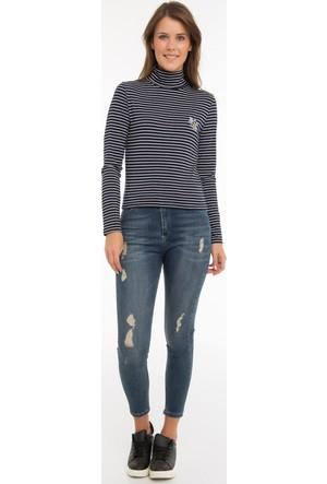 Collezione Kadın Sweatshirt Uzun Kol Alya