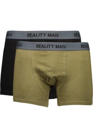 Collezione Erkek Boxer Hapsent 2Li Paket