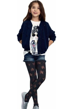 Penti Kız Çocuk Starry Külotlu Çorap