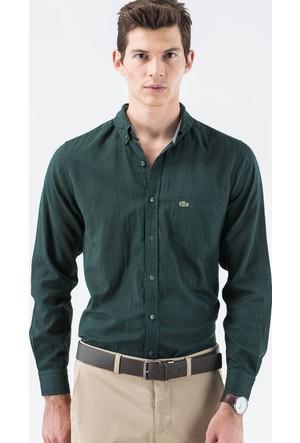 Lacoste Uzun Kollu Yeşil Erkek Gömlek Ch1718.18Y