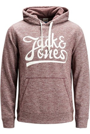 Jack & Jones Sweat Hood Jorpanther 12125053-POR