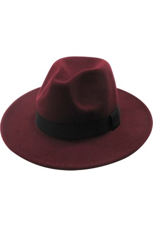 Laslusa İçten Ayarlanabilir Keçe Panama Fötr Şapka