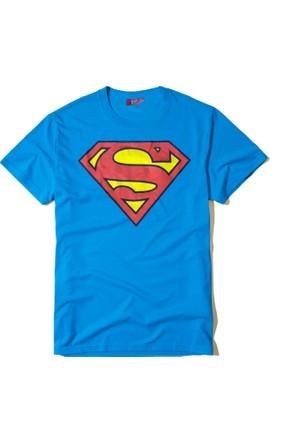 Lisanslı Superman Erkek T-Shirt