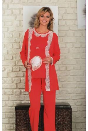 Baha 2430 Lohusa Pijama & Sabahlık