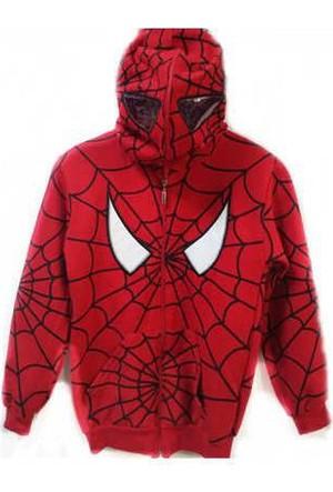Spiderman Örümcek Adam Maskeli Hırka