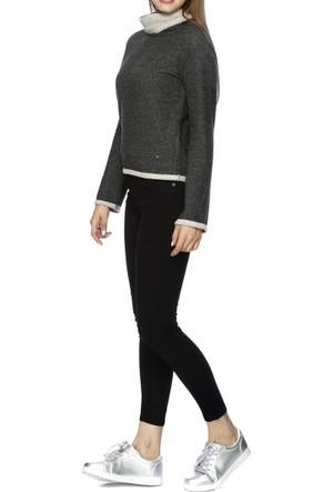 Loft Boru Yaka Kadın Sweatshirt 2013088