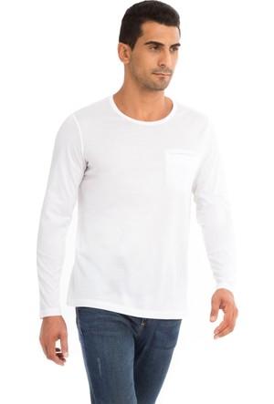 Kiğılı Bisiklet Yaka Regular Fit Merserize Sweatshirt