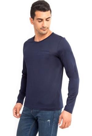 Kiğılı Bisiklet Yaka Regular Fit Sweatshirt