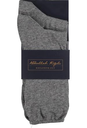 Kiğılı 2'Li Düz Çorap