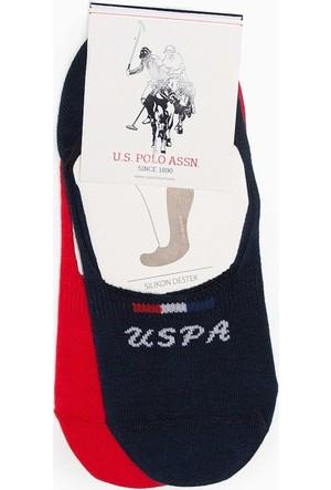 U.S. Polo Assn. Kadın Faliciaiy7 Çorap Siyah