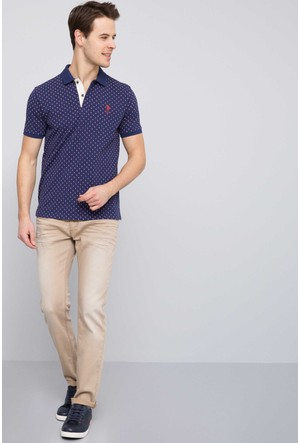 US Polo Assn Erkek Colored7S Pantolon Bej