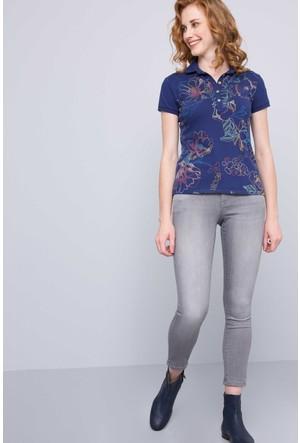 U.S. Polo Assn. Kadın Hello T-Shirt Lacivert