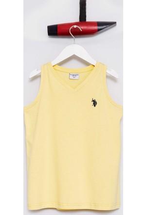 U.S. Polo Assn. Erkek Çocuk Rusti T-Shirt Sarı
