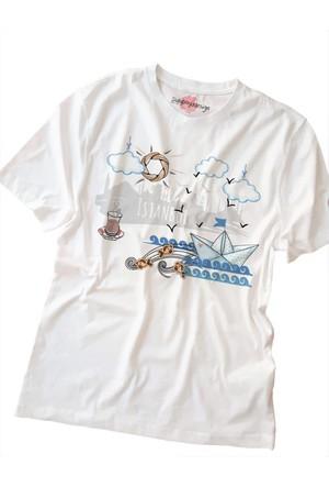 Suluboyadesign İstanbul Baskılı Sıfır Yaka Erkek T-Shirt