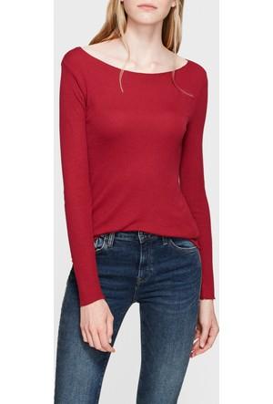 Mavi Bordo Basic Sweatshirt