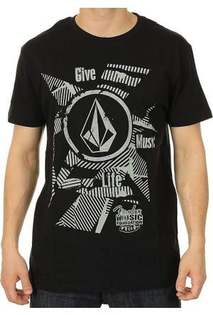 Volcom Fender Collab Vent Ss Blk T-Shirt