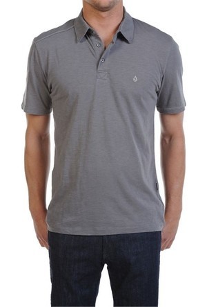 Volcom Blackout Mix Polo Ss Pew T-Shirt