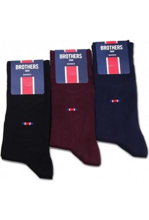 Brothers Brothers 3'lü Erkek Çorap Seti CRP21