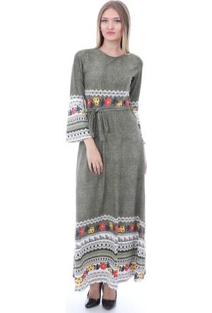 E-Giyimsepeti Bayan Haki Elbise