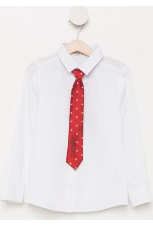 DeFacto Kravatlı Gömlek