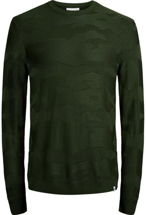 Jack & Jones Triko Jcocamo Crew Neck 12126233-ROS