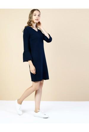 Colin's Lacivert Kadın Elbise