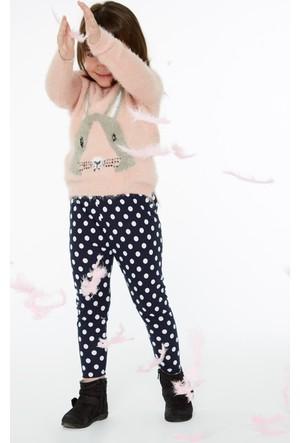 FullaModa 18KEMIREY0050 Kız Çocuk Desenli Kazak