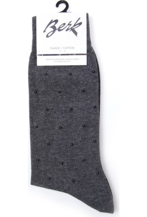 Berk Erkek Çorap Pamukp1662Bar