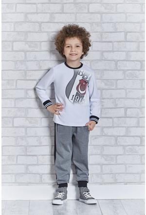 Beşiktaş Lisanslı Erkek Çocuk Pijama Takımı L9205
