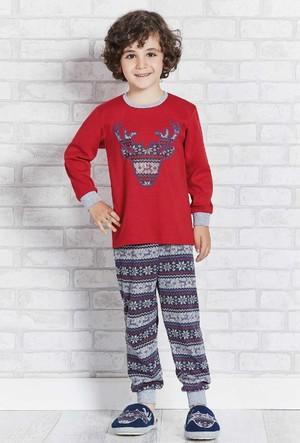 Rolypoly İnterlok Erkek Çocuk Pijama Takımı RP1110