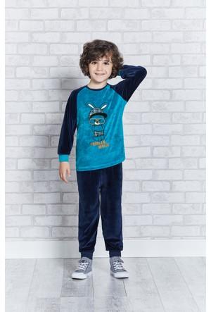 Rolypoly İnterlok Erkek Çocuk Pijama Takımı RP1130