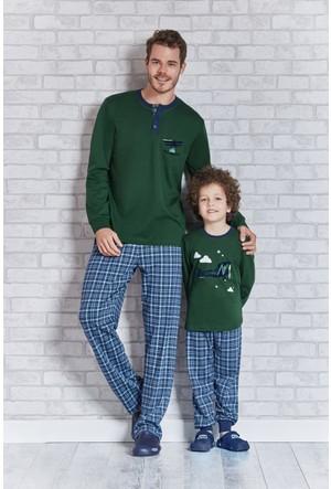 Rolypoly İnterlok Erkek Çocuk Pijama Takımı RP1108