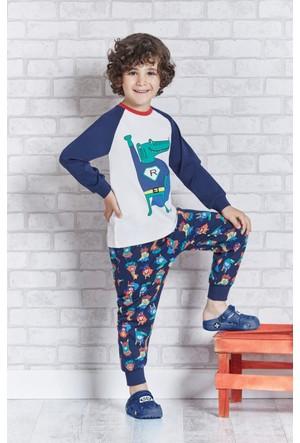 Rolypoly İnterlok Erkek Çocuk Pijama Takımı RP1102