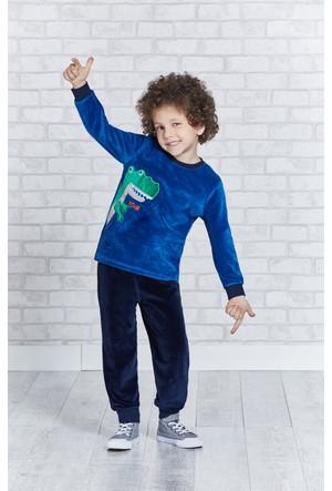 Rolypoly İnterlok Erkek Çocuk Pijama Takımı RP1131