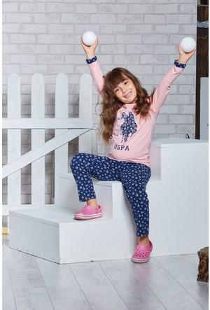 U.S. Polo Assn. Lisanslı Genç Kız Pijama Takımı-US-151