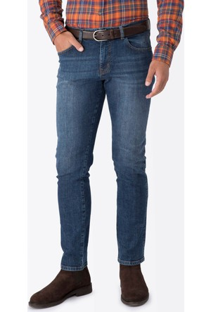 Hemington Indigo Slim Fit Denim Pantolon