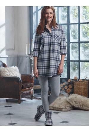 Penye Mood 8205 Kışlık Kadın Pijama Takımı