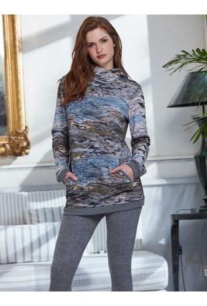 Penye Mood 8207 Kışlık Kadın Pijama Takımı