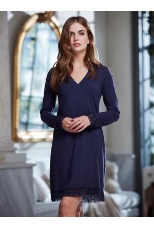 Penye Mood 8211 Kışlık Kadın Elbise