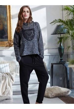 Penye Mood 8234 Kışlık Kadın Pijama Takımı