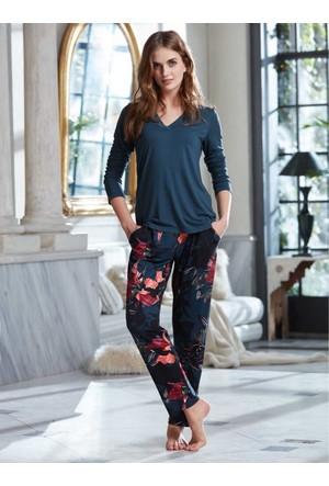 Penye Mood 8240 Kışlık Kadın Pijama Takımı