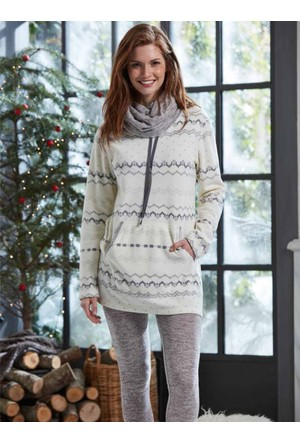 Penye Mood 8249 Kışlık Kadın Pijama Takımı