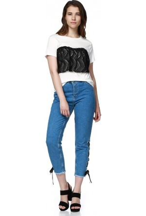 Bsl Fashion Ekru T Shirt 9312