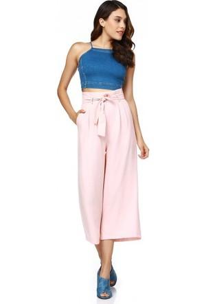 Bsl Fashion Pudra Pantolon 9467