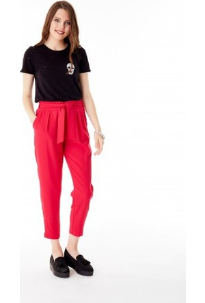 Bsl Fashion Fuşya Pantolon 9414