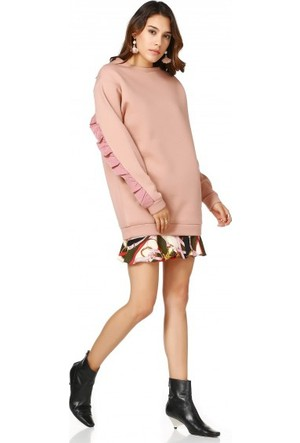 Bsl Fashion Bej Sweatshirt 9545