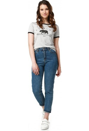 Bsl Fashion Gri T Shirt 9374